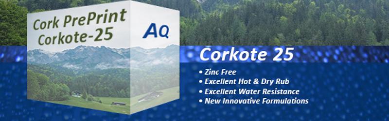 Corkote 25 Preprint Coating
